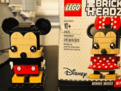 New Disney Fab 5 Lego Brickheadz Coming Soon!