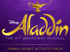"""Aladdin"" the Broadway Musical Activities and Entertainment"