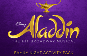 """""""Aladdin"""" the Broadway Musical Activities and Entertainment"""