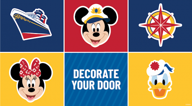 Decorate your Door: Bring Disney Cruise Line Magic Home with Free Printables