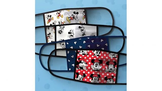 New: Disney Cloth Face Masks Available for Pre-order