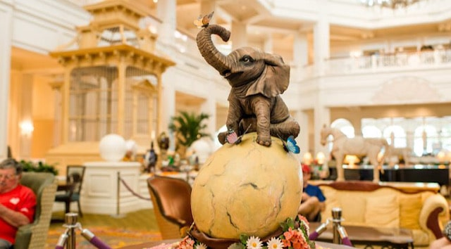 Photo Tour of Walt Disney World Resort Easter Egg Displays from Years Past