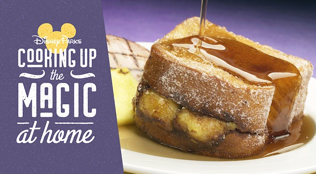 Disney Parks Magical Moment: Delicious Tonga Toast Recipe