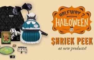 Shriek Peak: New Disney Halloween Merchandise