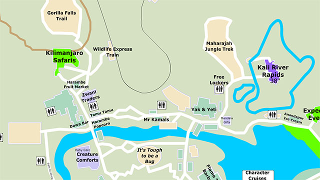 Disney World maps with new normal are shocking