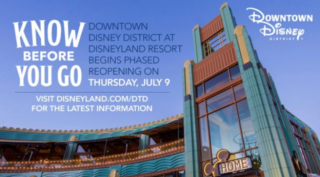 Know Before you go to Downtown Disney District at Disneyland
