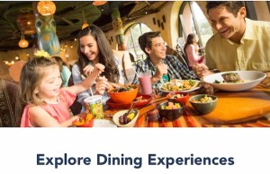 NEWS: Select Walt Disney World Dining Reservations Now Available!