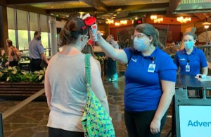 Temperature Screening Procedures at Walt Disney World