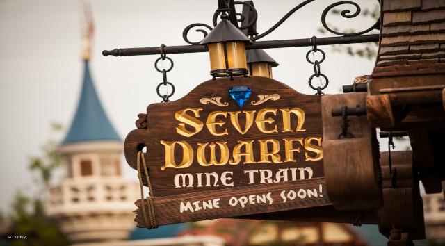Disney Shares Virtual Ride of Seven Dwarfs Mine Train at Magic Kingdom