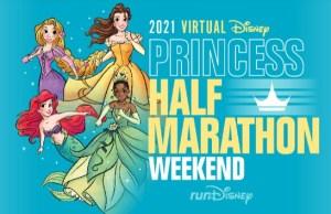New Information Released for 2021 Princess Half Marathon Weekend