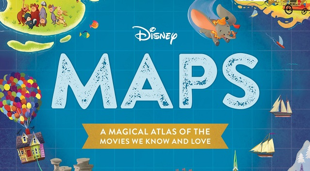 You Will Love This NEW Book of Disney Maps