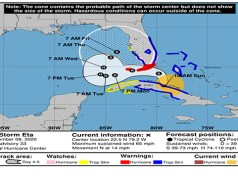 Central Florida Under Tropical Storm Warning