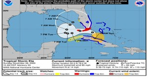 Central Florida Under Tropical Storm Warning
