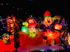 Peep the Amazing Holiday Decorations at Fort Wilderness Campground