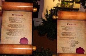 Revisiting The World Showcase And The Customs Of Christmas: Kwanzaa and Hanukkah