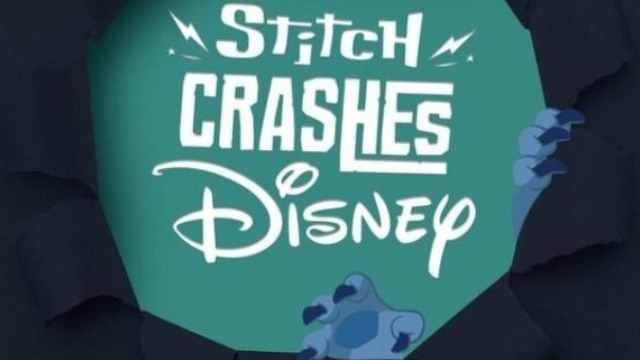 Sneak Peek at the NEW February Stitch Crashes Disney