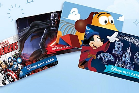 Disney Gift Card Website Pushes Back Scheduled Upgrade