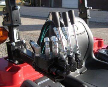 3 Spool Rear Remote Auxiliary Valve - Keno Tractors