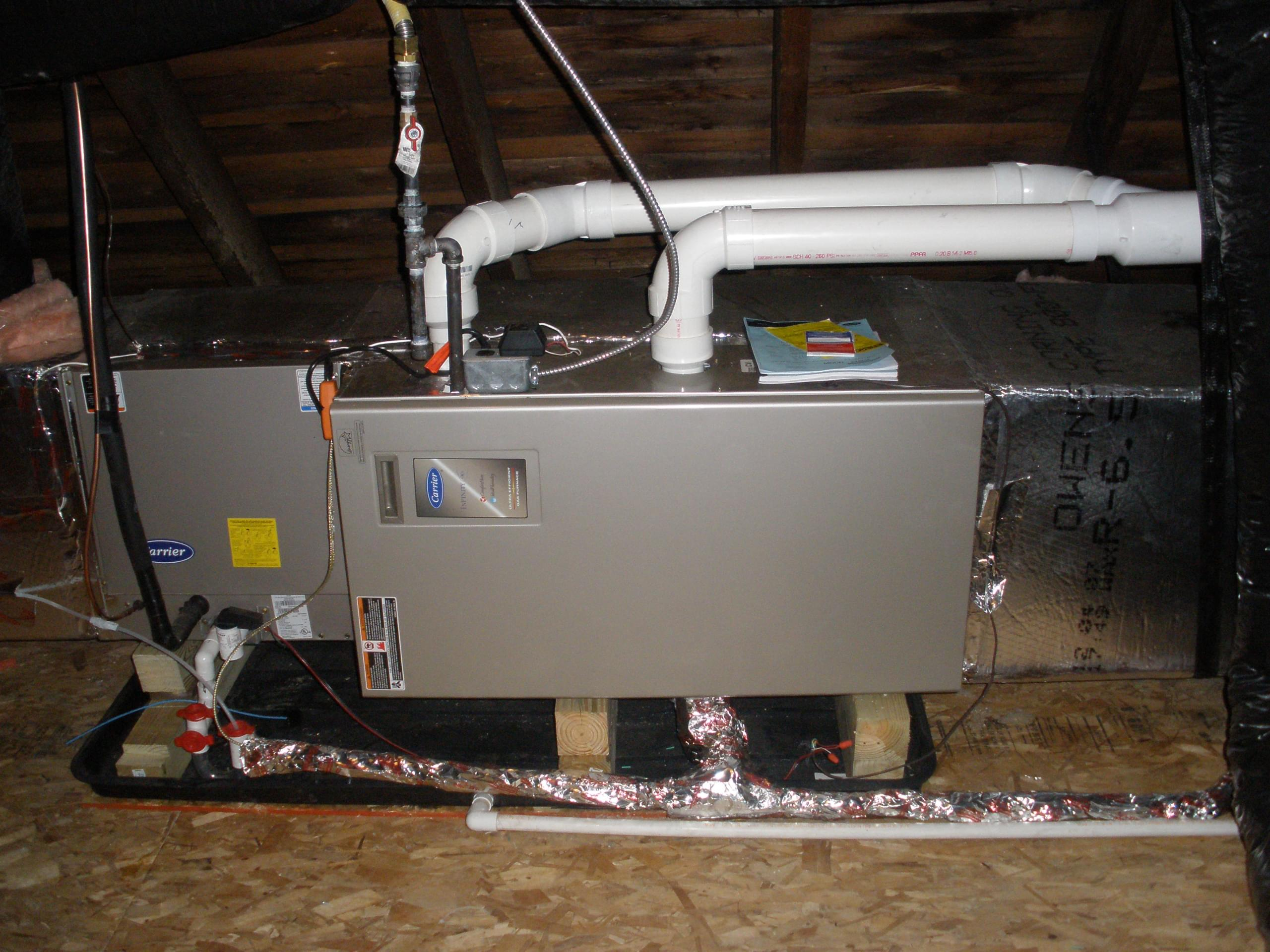 Carrier Furnace In Attic