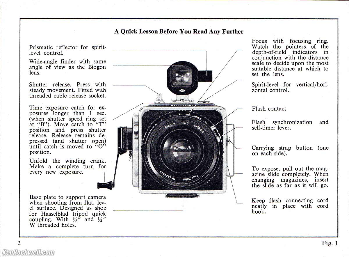 Hasselblad SWC Manual