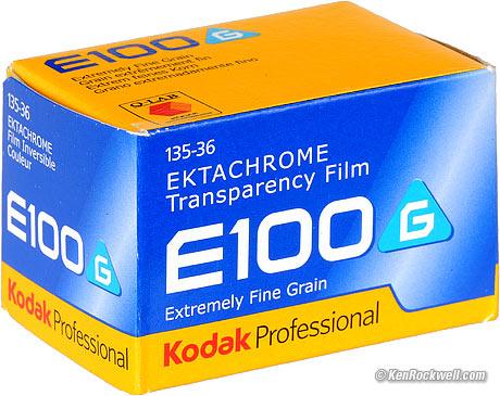 Kodak Ektachrome E100G Review