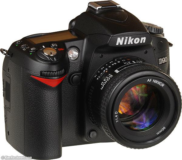 The Nikon D90, baby!