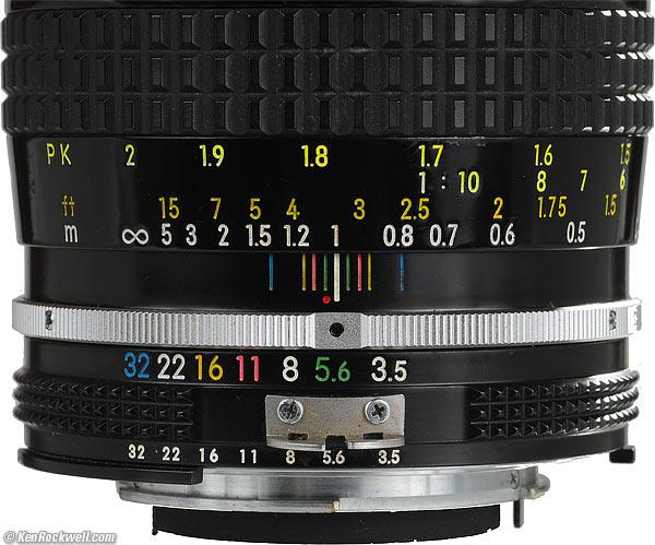 Nikon 55mm f/3.5 Review