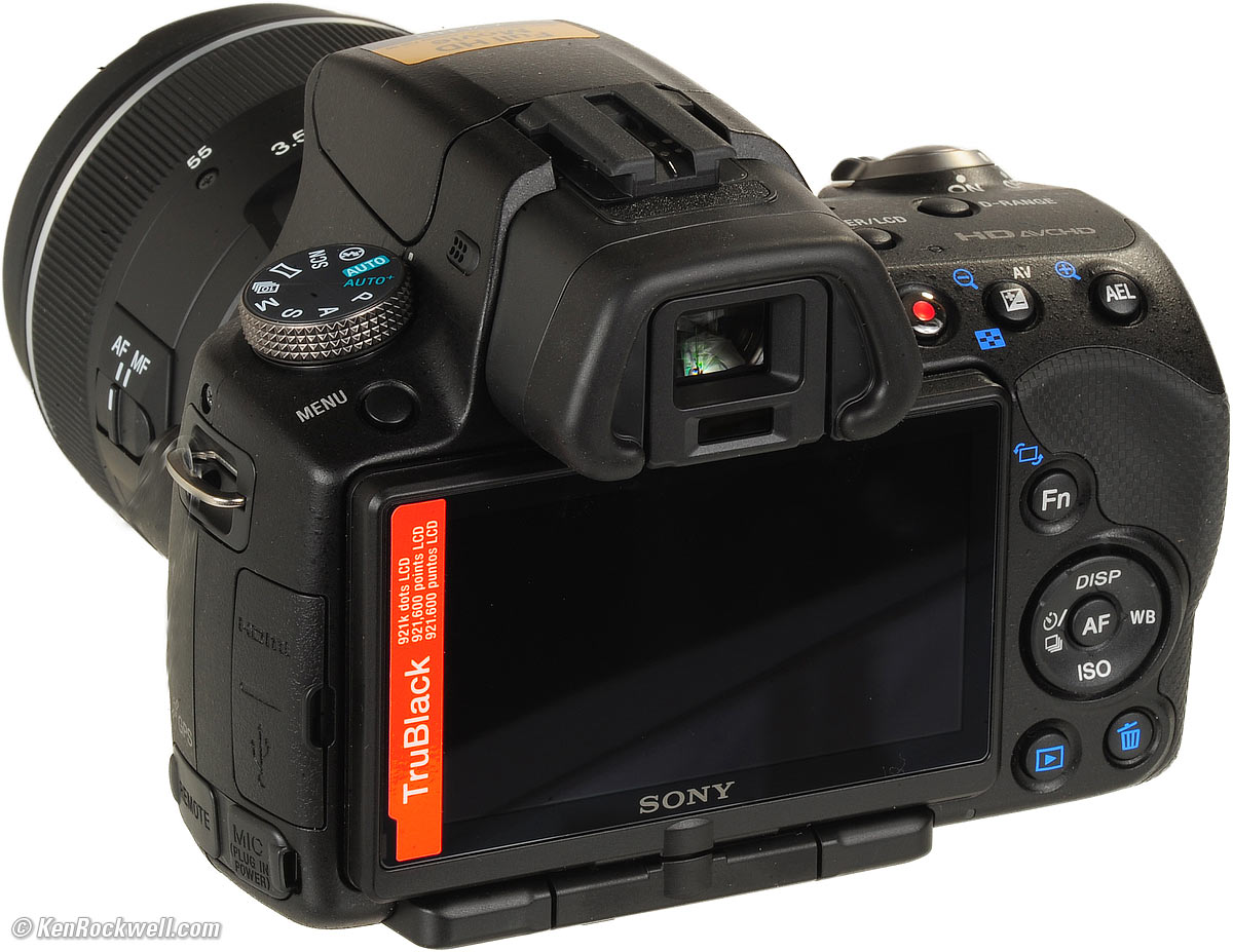 Sony A33 A55 and A55V