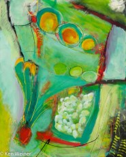 Three Orange Spots (SOLD)
