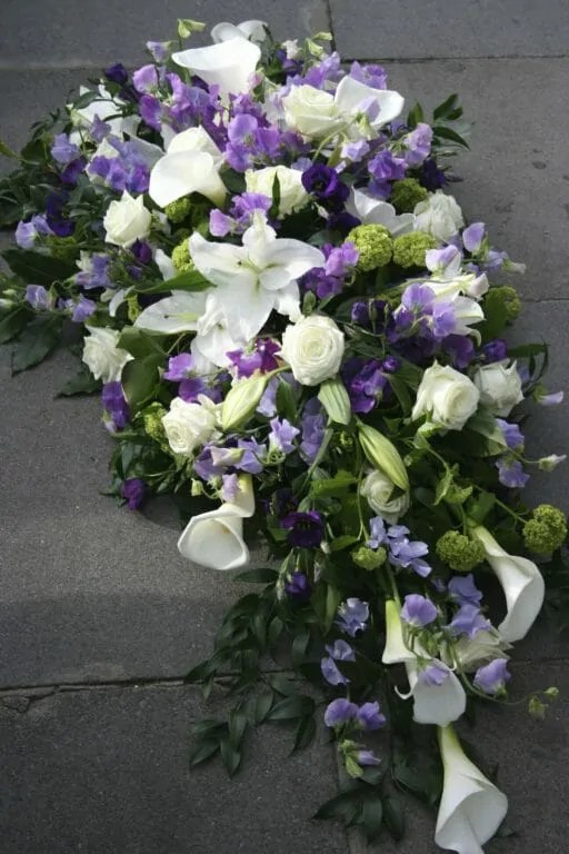 Funeral Flowers Spray Arrangement
