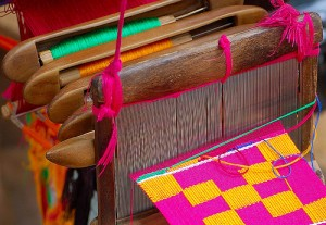 kente-loom-300x207 Kente Cloth Weaving
