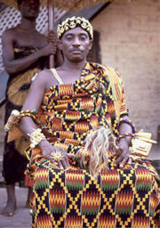 king How to Wear Kente Cloth