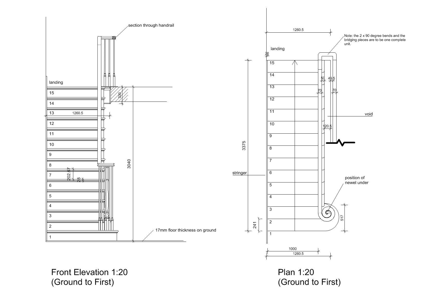 Joinery Detail Drawings  KENT GRIFFITHS DESIGN