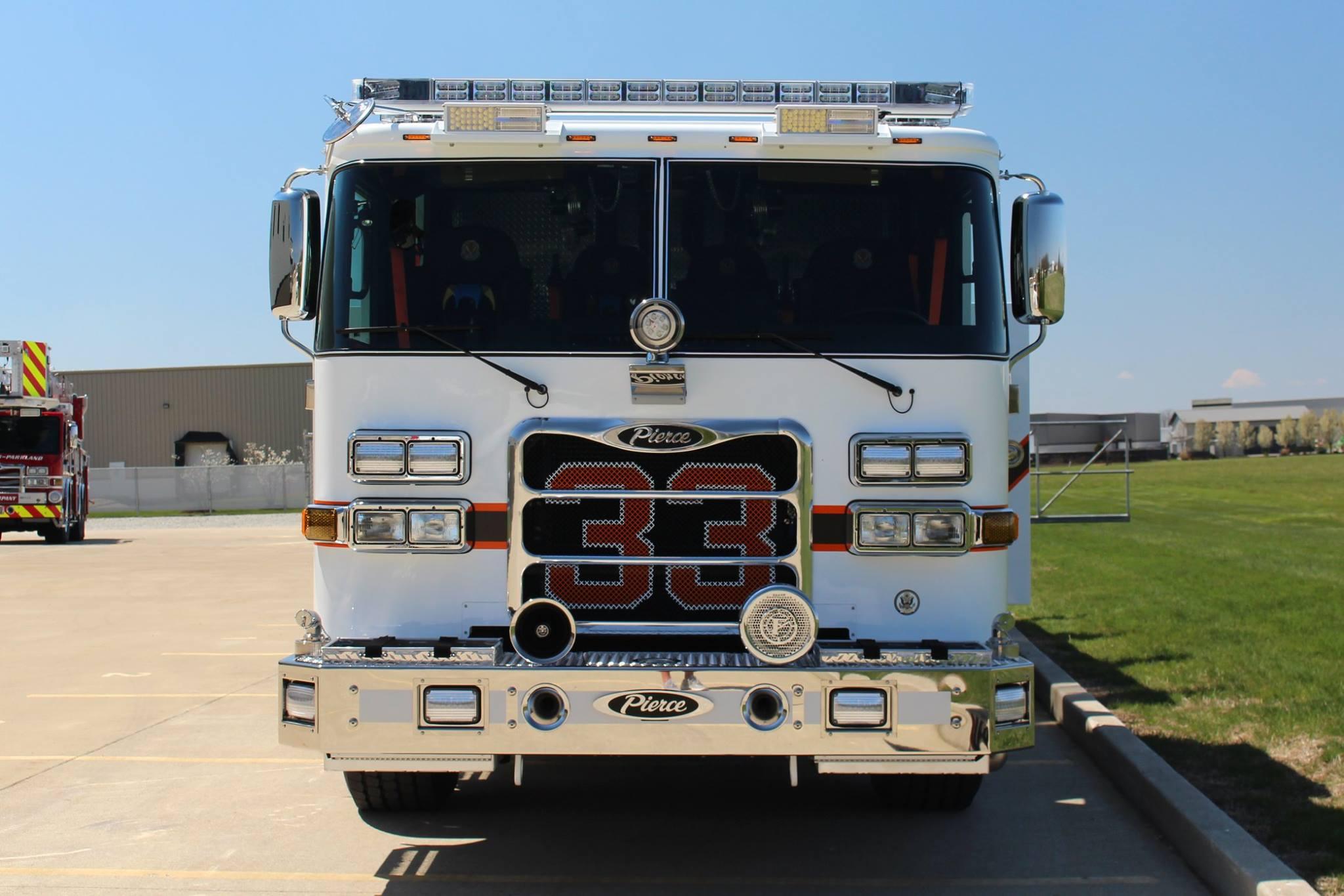 Rescue Engine 33 - Kentland Volunteer Fire Department