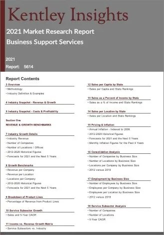 Business Support Services Report