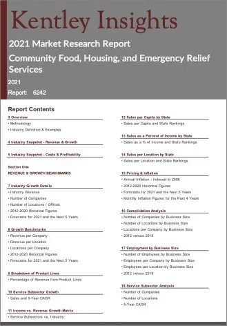 Community Food Housing Emergency Relief Services Report