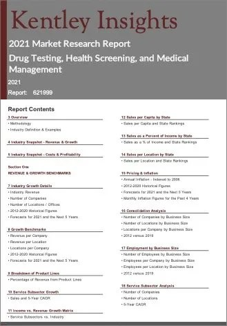 Drug Testing Health Screening Medical Management Report