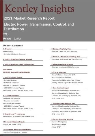 Electric Power Transmission Control Distribution Report