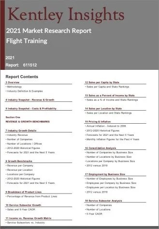 Flight Training Report