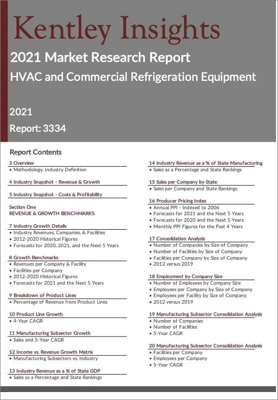 HVAC-Commercial-Refrigeration-Equipment Report