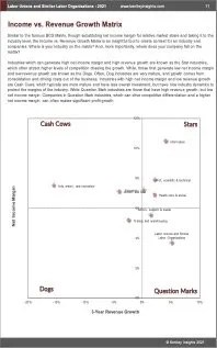 Labor Unions Similar Labor Organizations BCG Matrix