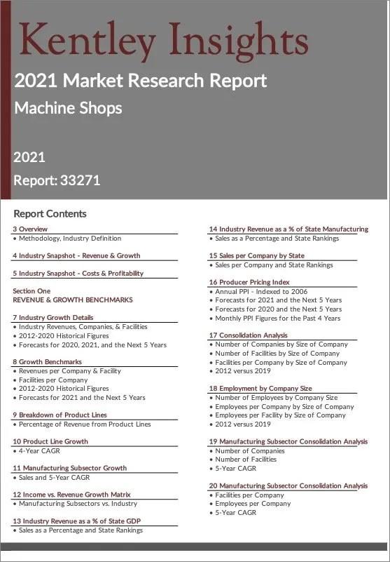 Machine-Shops Report