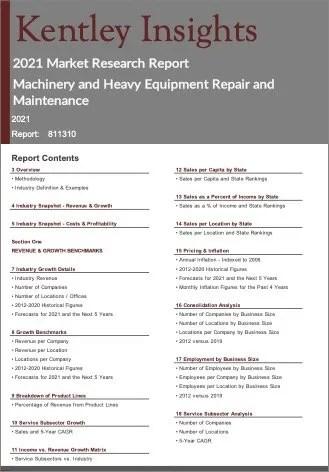 Machinery Heavy Equipment Repair Maintenance Report