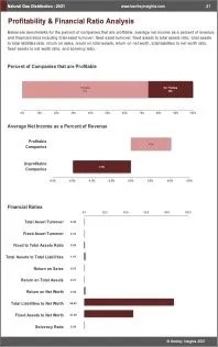 Natural Gas Distribution Profit
