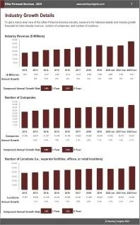 Other Personal Services Revenue