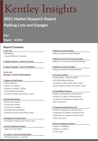 Parking Lots Garages Report