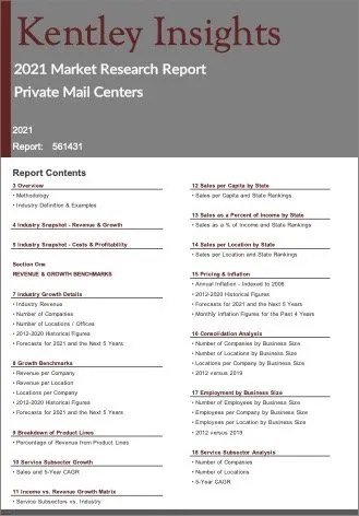 Private Mail Centers Report