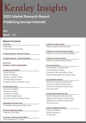 Publishing except Internet Report