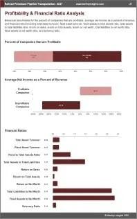 Refined Petroleum Pipeline Transportation Profit