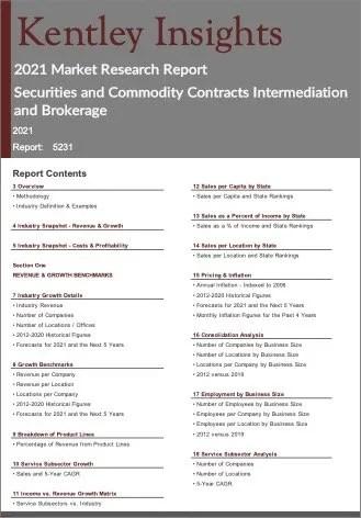 Securities Commodity Contracts Intermediation Brokerage Report